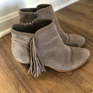 Franco Fortini women's suade boots- size 8